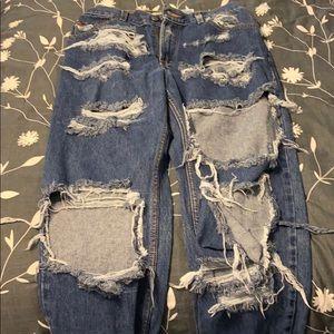 AMAZING custom Levi jeans